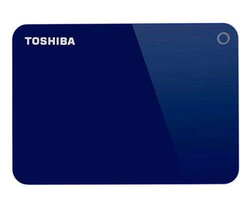 HD Externo Toshiba Canvio Advance 1TB Azul USB 3.0, HDTC910XL3AA