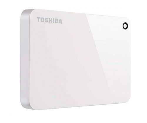 HD Externo Toshiba Canvio Advance 2TB Branco USB 3.0, HDTC920XW3AA