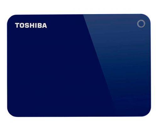 HD Externo Toshiba Canvio Advance 2TB Azul USB 3.0, HDTC920XL3AA