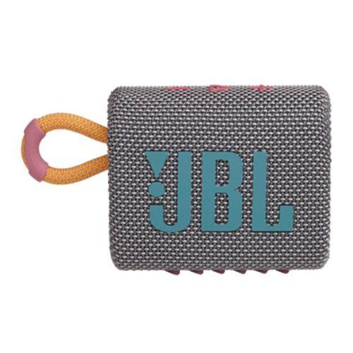 Caixa de Som JBL GO 3 Bluetooth 4.2W Cinza, JBLGO3GRY