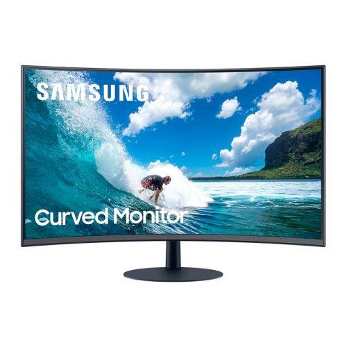 Monitor Samsung 31,5'' LED Full HD Curvo Preto, LC32T550FDLXZD