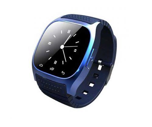 Smart Watch M26S Azul Bluetooth Compativel com IOS e Android