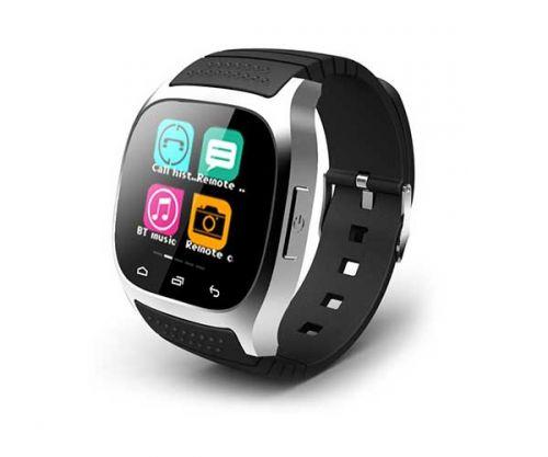 Smart Watch M26S Prata Bluetooth Compativel com IOS  e Android