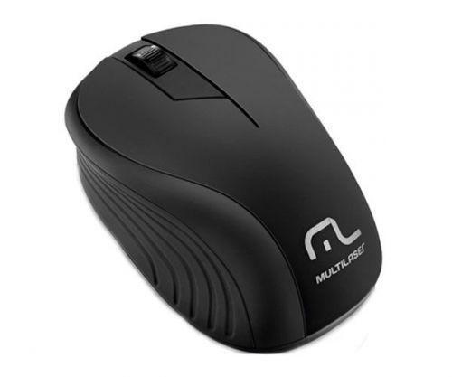 Mouse Multilaser Wireless 1200Dpi Preto, MO212