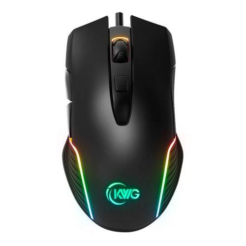Mouse Gamer KWG RGB 7000DPI Preto, ORION M1