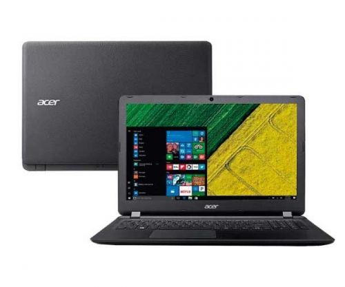 Notebook Acer ES1-572-51NJ Aspire I5 7200U 4GB 1TB 15.6 LED USB 3.0 Windows 10 PRETO, NX.GMFAL.003