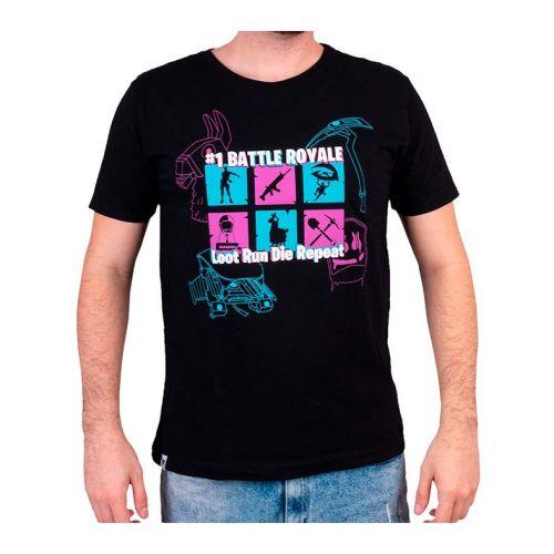 Camiseta Gamer Pichau Fortnite Preta Tamanho GG, PG-BR-P-GG