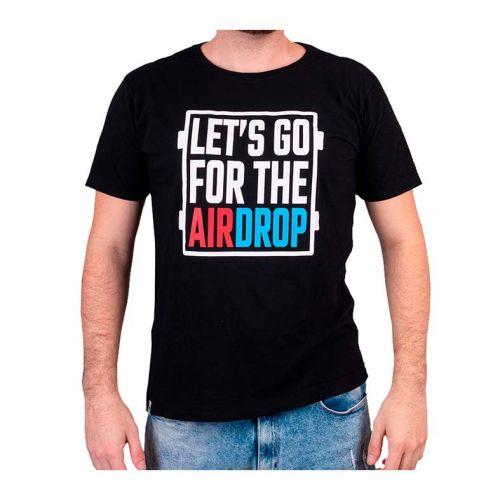 Camiseta Gamer Pichau Airdrop Preta Tamanho P, PG-DRP-P-P