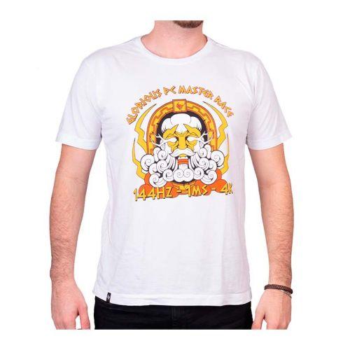 Camiseta Gamer Pichau Pc Master Race Branca Tamanho GG, PG-GPMC-B-GG