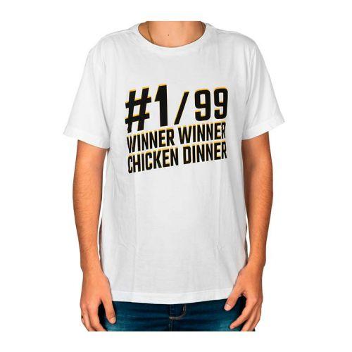 Camiseta Gamer Pichau Pubg Branca Tamanho M, PG-WW-B-M