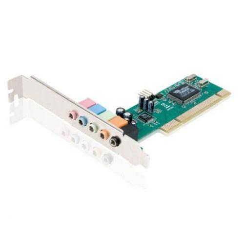 Placa de Som Encore 5.1 Canais PCI ENM232-6VIA - BOX