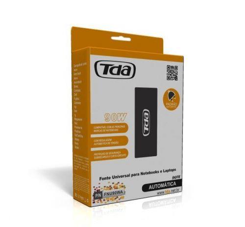 Fonte Universal TDA Para Notebook 90w, FNU90WA - BOX