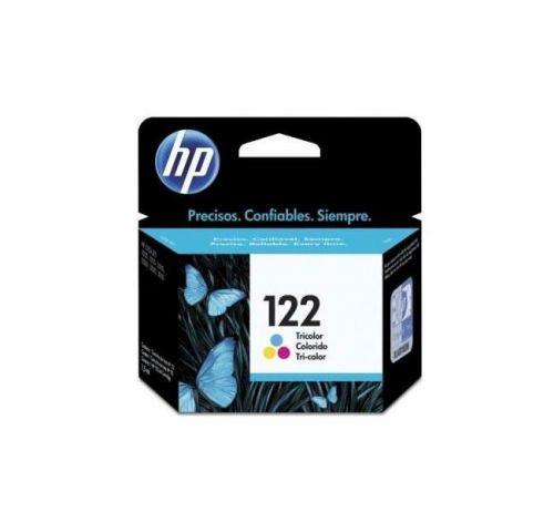 Cartucho de Tinta HP 122 Colorido CH562HB - BOX
