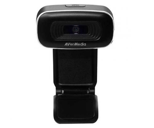 Webcam AVerMedia PW310 1080p HD Preto/Cinza
