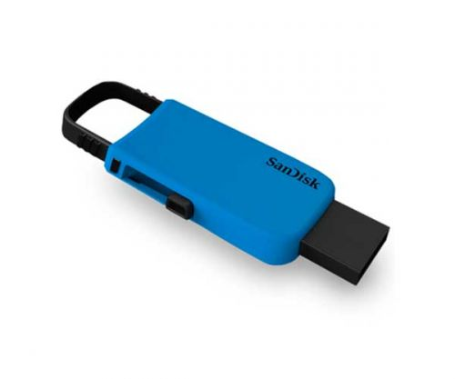 Pen Drive Sandisk 32GB Cruzer Metal Azul, SDCZ59-032G-B35B