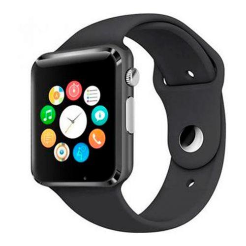 Smart Watch A1 Preto Bluetooth Compativel com IOS e Android