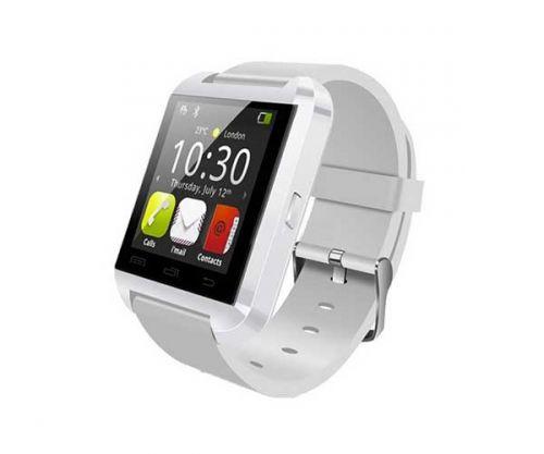 Smart Watch U8 Branco Bluetooth Compativel com IOS e Android