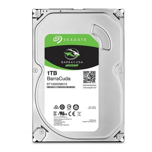 "HD Seagate Barracuda 1TB 3.5"" Sata III 6GB/s, ST1000DM010"