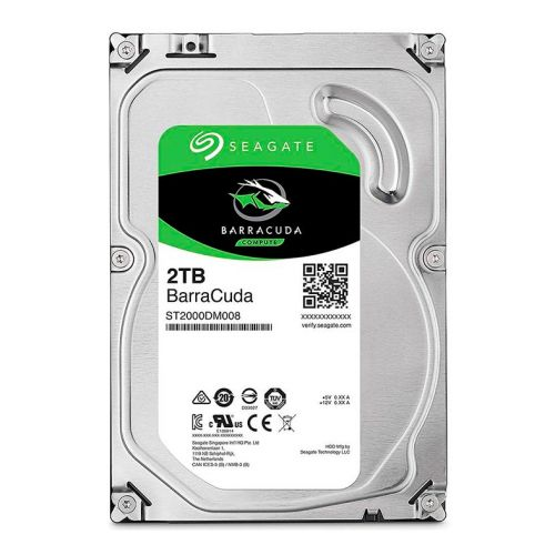 "HD Seagate 2TB 3.5"" 7200RPM Sata III 6Gb/s, ST2000DM008"