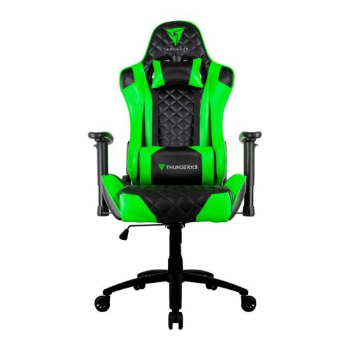 Cadeira Gamer Thunderx3 TGC12 Preto Com Verde, TGC12 PT/VD