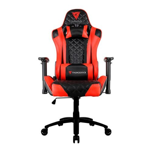 Cadeira Gamer Thunderx3 TGC12 Preto Com Vermelho, TGC12 PT/VM