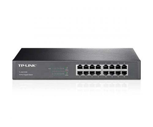 Switch TP-Link Desktop/Rackmount 16 Portas 1000Mbps, TL-SG1016D