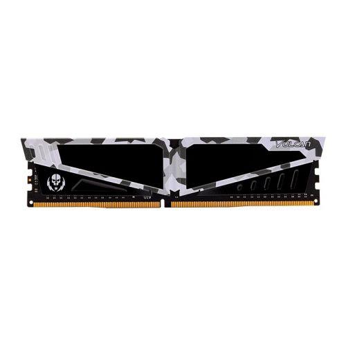 Memoria Team Group T-Force Vulcan Pichau 8GB (1x8) DDR4 3600MHz Branca RTB, TLPBD48G3600HC18J01