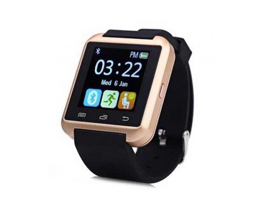Smart Watch U8 Dourado Bluetooth Compativel com IOS e Android