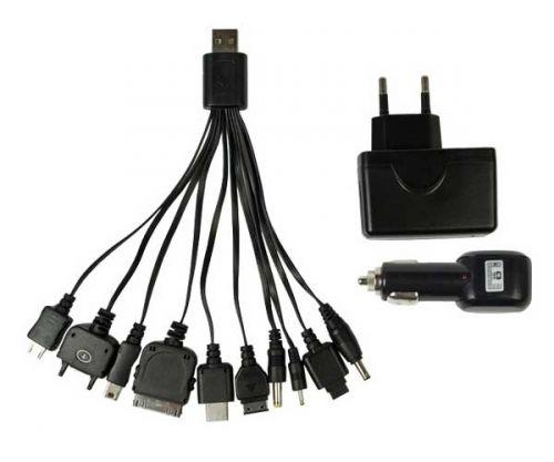 Carregador USB/BIV+Veicular UC-200