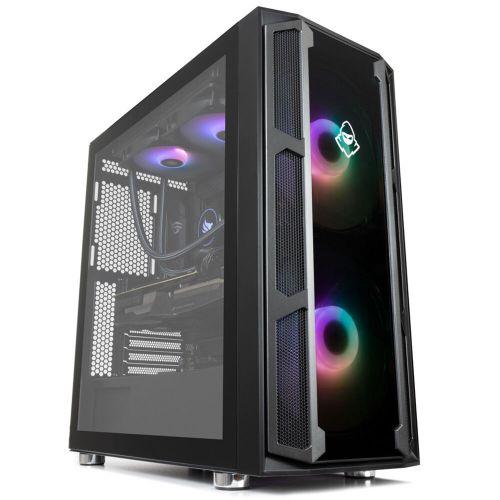 Computador Pichau Gamer Highflyer, Intel i9-10850K, Asus GeForce RTX 3080 Tuf 10G ,16GB DDR4, SSD M.2 512GB, 750W, Water Cooler X200, Warg RGB