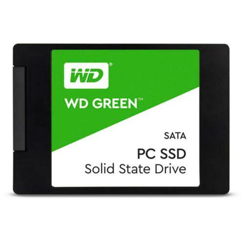 """SSD WD Green 240GB 2.5"""" Sata III 6GB/s, WDS240G2G0A"""