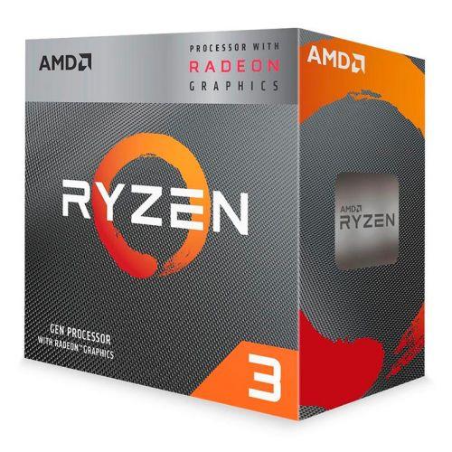 Processador AMD Ryzen 3 3200G Quad-Core 3.6GHz (4GHz Turbo) 6MB Cache AM4, YD3200C5FHBOX