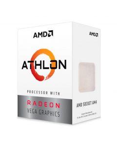 Processador AMD Athlon 3000G, 2-Core, 4-Threads, 3.5GHz, Cache 5MB, AM4, YD3000C6FBBOX