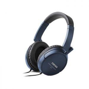 Fone de Ouvido Headphone Stereo Azul Edifier H840