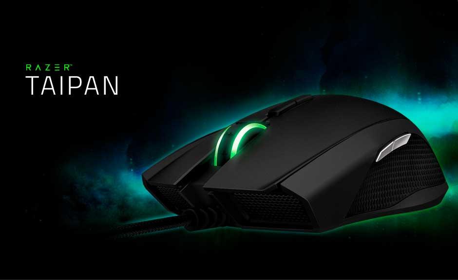 Mouse Razer Taipan Expert, Ambidestro, RZ01-00780100-R3U1